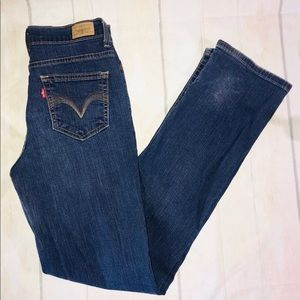 Levis Perfectly Slimming Straight Leg 512 Jeans